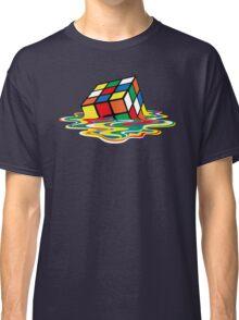 Sheldon Cooper - Melting Rubik's Cube    Cubo de Rubik derritiéndose Classic T-Shirt