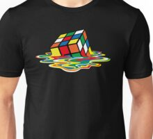 Sheldon Cooper - Melting Rubik's Cube    Cubo de Rubik derritiéndose Unisex T-Shirt