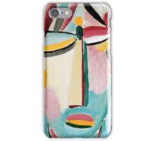 Alexej von Jawlensky - Heilandsgesicht, Der Tod II iPhone Case/Skin
