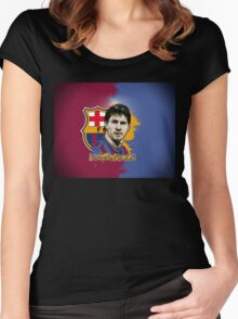 messi Women's Fitted Scoop T-Shirt