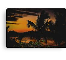 Mana Magic #5 - Mana Island, Fiji Canvas Print