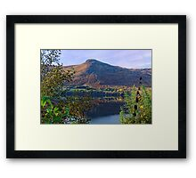 Scottish Loch and Mountain Framed Print