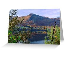 Scottish Loch and Mountain Greeting Card