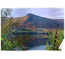 Scottish Loch and Mountain Poster