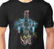 shiny space ship Unisex T-Shirt