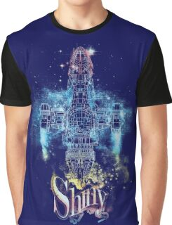 shiny space ship Graphic T-Shirt