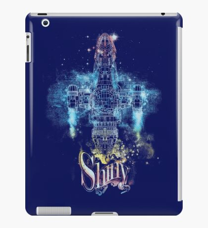 shiny space ship iPad Case/Skin