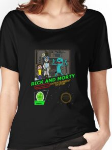 NINTENDO: NES RICK AND MORTY Women's Relaxed Fit T-Shirt