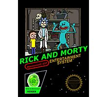 NINTENDO: NES RICK AND MORTY Photographic Print