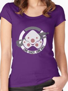 Widoner Women's Fitted Scoop T-Shirt