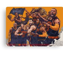 cleveland cavaliers Canvas Print