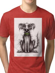 Mr Smelly the smelly dog Tri-blend T-Shirt