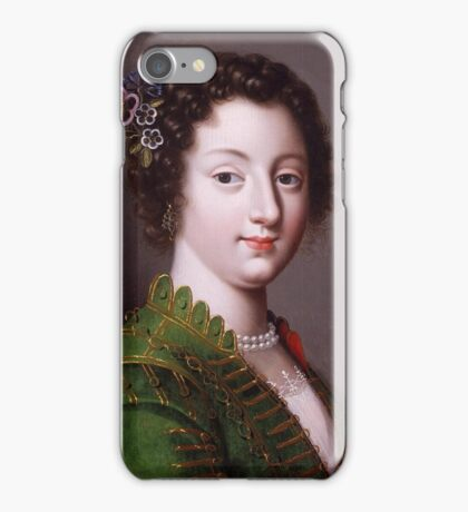 Claude Deruet (),A Young French Noblewoman iPhone Case/Skin