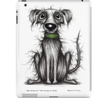 Mr Smelly the smelly dog iPad Case/Skin