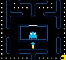 Pacman Game | Juego del Comecocos Sticker