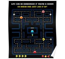 Pacman Game   Juego del Comecocos Poster