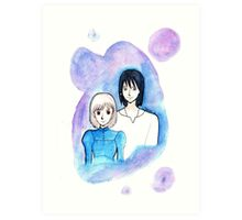 Sophie and Howl Art Print