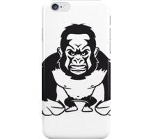 Gorilla agro monkey cool iPhone Case/Skin