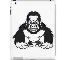 Gorilla agro monkey cool iPad Case/Skin