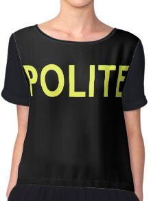 Polite Chiffon Top