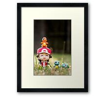 Red and the Starters Framed Print