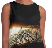 evening shadows Contrast Tank