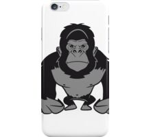 Gorilla agro cool iPhone Case/Skin