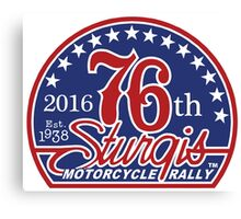 sturgis, bike, week, motorcycle, motorbikes, bikes, event, another, perspective, rally, motorcycle rally Canvas Print