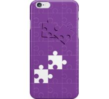 Jigsaw pieces iPhone Case/Skin