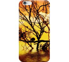 tangled silhouette iPhone Case/Skin