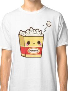Popcorn Background Classic T-Shirt
