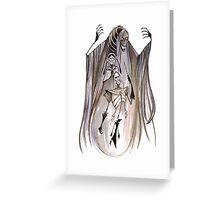 Death & 3 Brothers Greeting Card