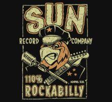 SUN RECORDS : 110% Rockabilly Kids Tee