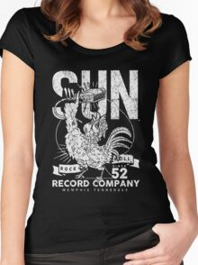 SUN RECORDS : since 1952 Women's Fitted Scoop T-Shirt