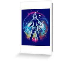 balancing universe Greeting Card