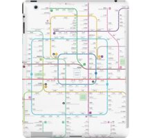 Beijing subway map iPad Case/Skin