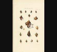 Thesaurus conchyliorum Monographs of genera of shells George Brettingham Sowerby 1887 V1-V5 393 Unisex T-Shirt