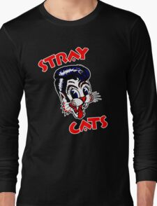 STRAY CATS : ROCKABILLY Long Sleeve T-Shirt