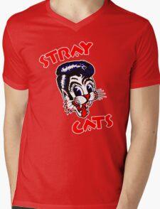 STRAY CATS : ROCKABILLY Mens V-Neck T-Shirt