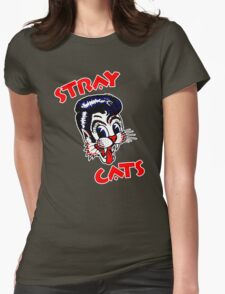 STRAY CATS : ROCKABILLY Womens Fitted T-Shirt