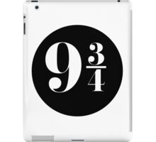 Platform 9 3/4 (design 02) iPad Case/Skin