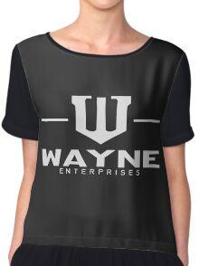 WAYNE Enterprises Chiffon Top