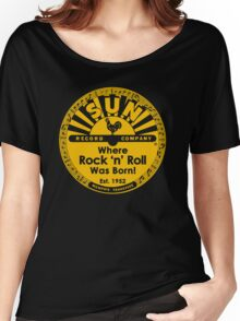 SUN RECORDS : Where rock n roll was born Women's Relaxed Fit T-Shirt
