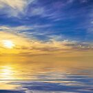 Sea and sky by Jan Pudney