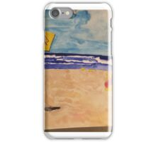Bronte Beach with seagulls  iPhone Case/Skin