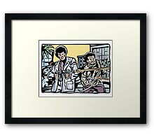 Failed Robbery Framed Print