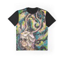 Galaxy Shaman Graphic T-Shirt