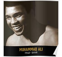 RIP MUHAMMAD THE GREATEST Poster