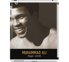 RIP MUHAMMAD THE GREATEST iPad Case/Skin