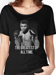 Muhammad Ali, 'The Greatest of All Time',  Women's Relaxed Fit T-Shirt